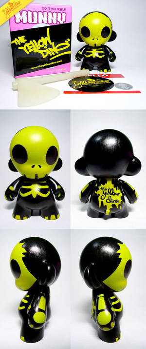 Halloween Mini Munny Custom