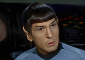 Study - Spock by ResidentFrankenstein