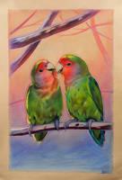 Lovebirds by ResidentFrankenstein