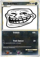 Troll Face Pokemon Card by XMSB