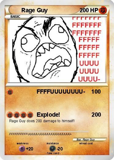 pokemon yellow rage