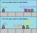 Justin Bieber on Sesame Street