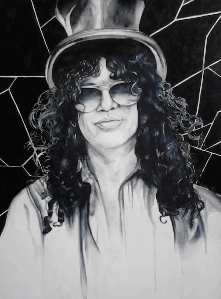 Slash portrait by Bloodysfish