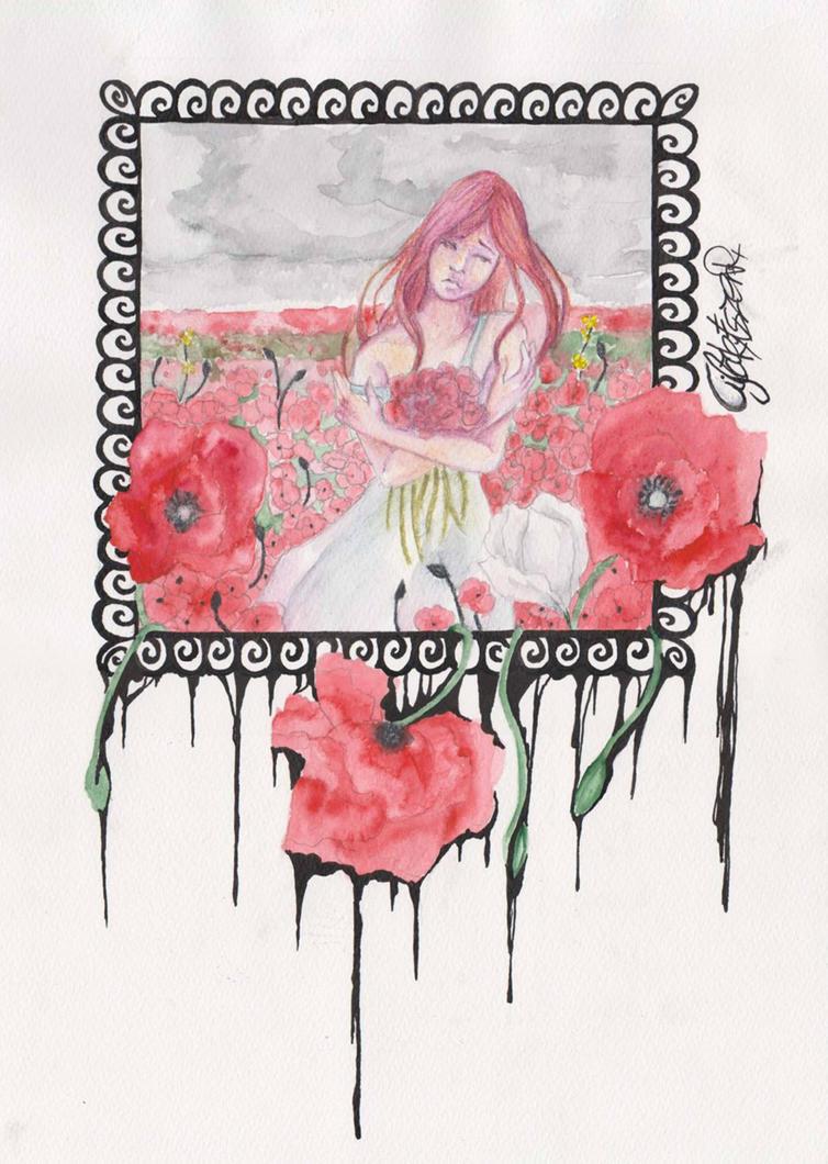 .Poppy. by Bloodysfish