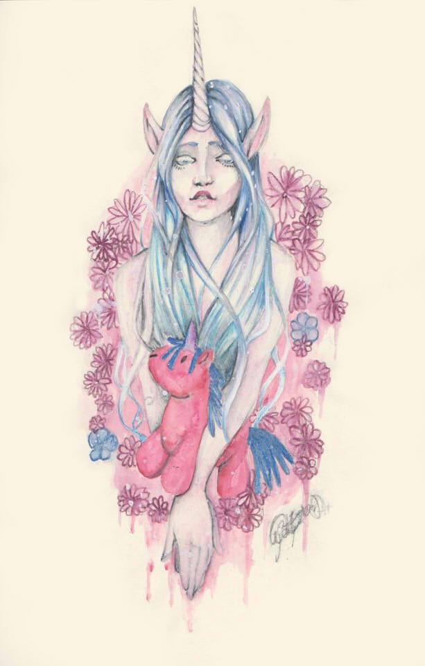 My little unicorn by Bloodysfish