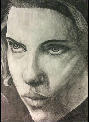 Scarlett Johansson by grimsqueaker66