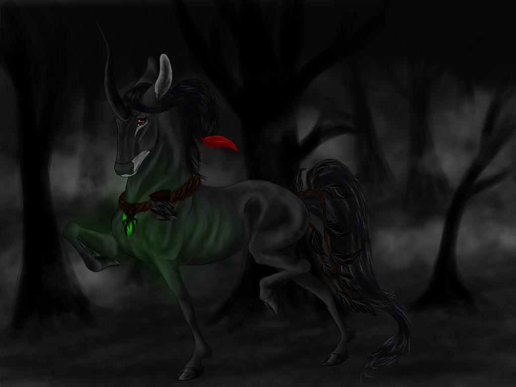 Fenrir / Bw Doe / Witch by Crimson-Forest-Farm