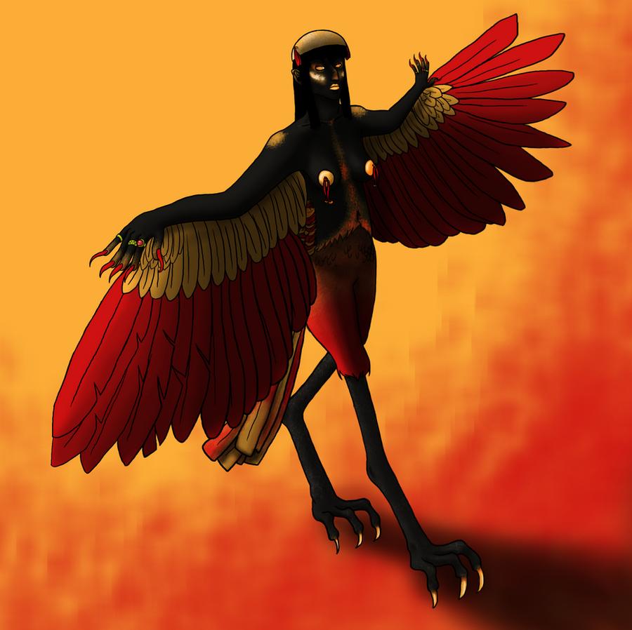 MGC: Harpy Girl by vynn-beverly