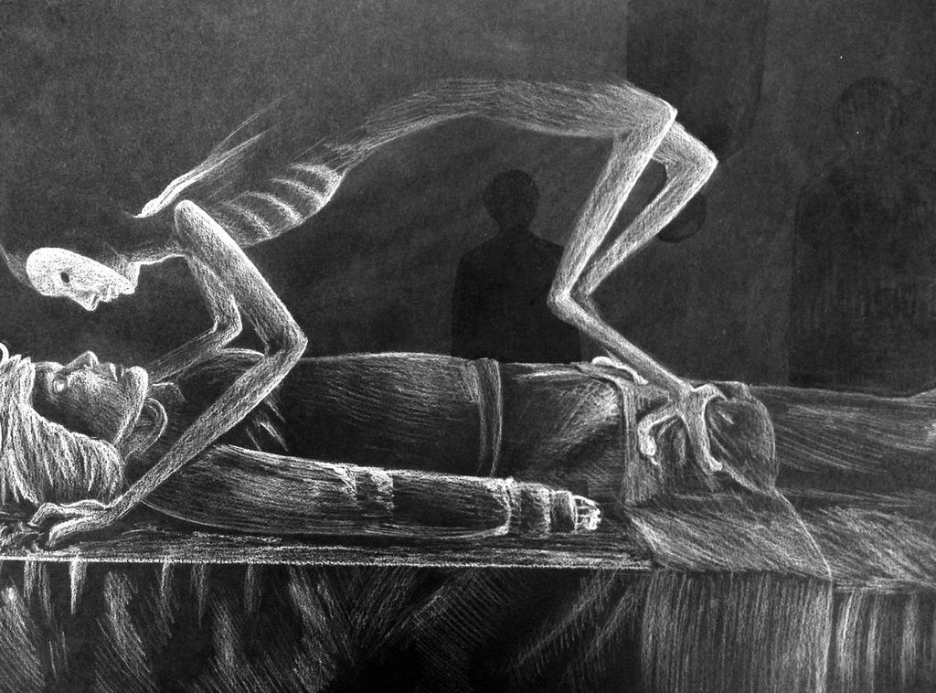 Sleep Paralysis by vynn-beverly