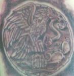 aztec eagle tattoo