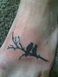 BIRDS ON BRANCH TATTOO by 216tattoos on DeviantArt Love Bird On A Branch Tattoos