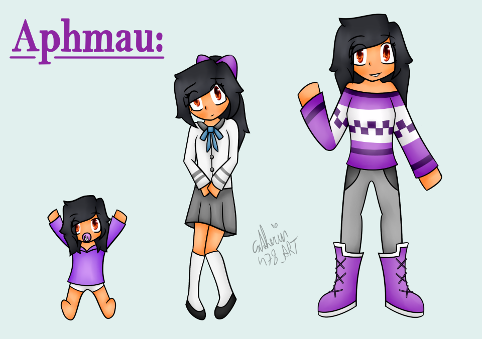 Young Old Aphmau Minecraftdiaries Catherin
