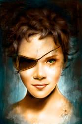 Portrait of Halle Berry