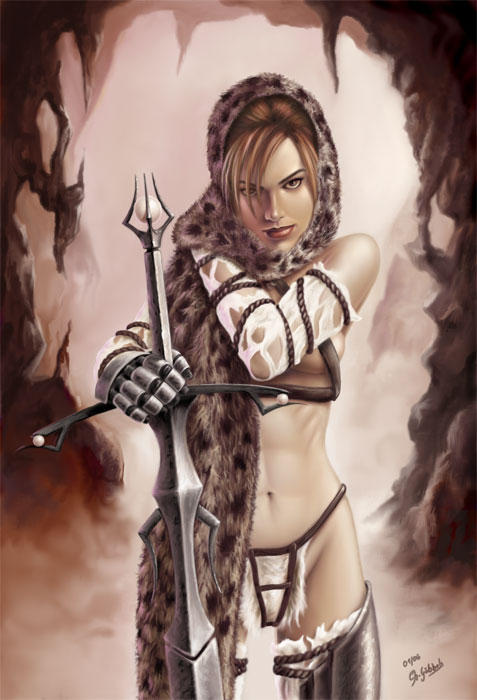 Barbarian Princess by royo12