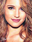 Dianna Agron - drawing