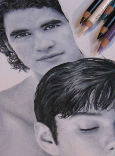 Klaine Porn drawing photo-2 by Live4ArtInLA