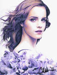 Emma Watson - Scan of Drawing