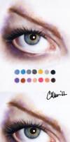 Colours + Techniques drawing