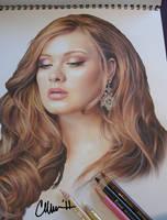 Adele - photo of drawing