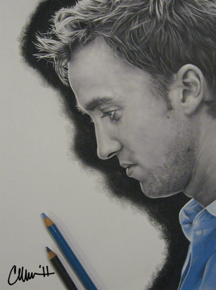 Tom Felton Drawing by Live4ArtInLA