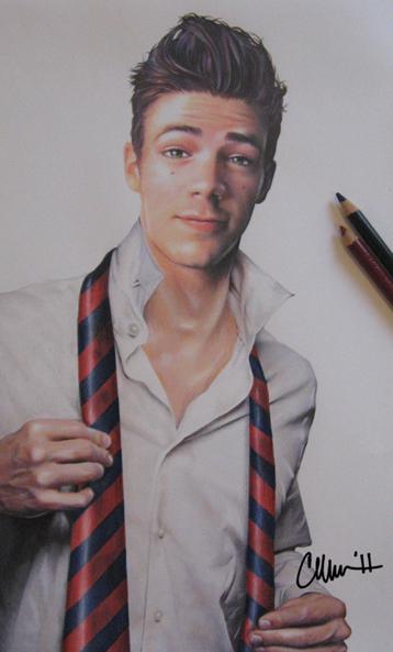 'Hello, Sebastian' Drawing by Live4ArtInLA