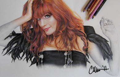 Florence Welch Drawing