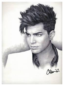 Adam Lambert Drawing (#2)