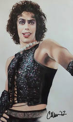 Tim Curry as Dr. Frank-N-Furter Drawing