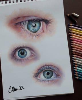 Eyes - Study Drawings