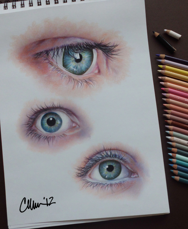 Eyes - Study Drawings by Live4ArtInLA