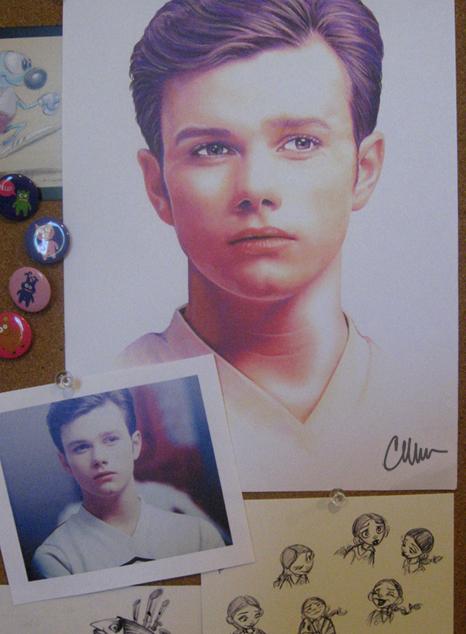 Chris as Kurt Drawing by Live4ArtInLA
