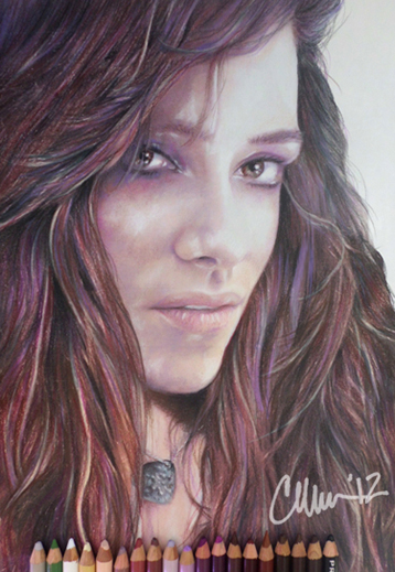 Mia Swier Drawing by Live4ArtInLA