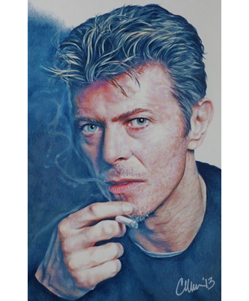 David Bowie by Live4ArtInLA