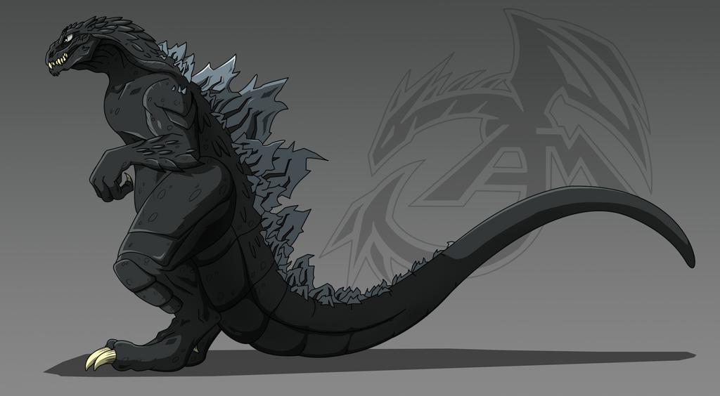Godzilla by aloid19
