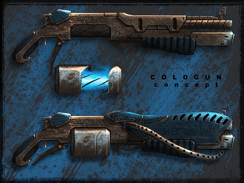 COLDGUN concept by d1sk1ss