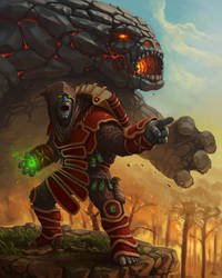goblin shaman by d1sk1ss