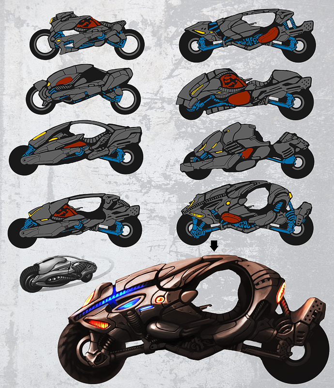 Bike Concept By D1sk1ss On Deviantart