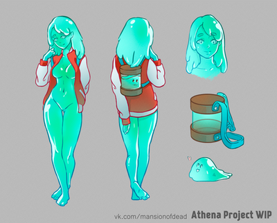 Concept Princess Slime by Korezky