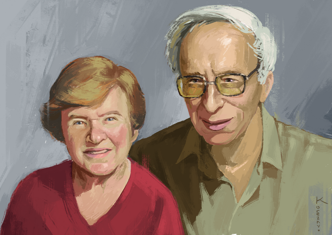 My grandma and grandpa by Korezky