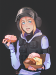 IQ with donuts