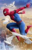 Spider-Man in Flight