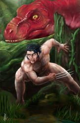 Wolverine in the Savage Land