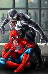 Spider-Man and Venon - Surprise