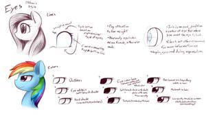 DShou's Method : Eye Style Coloring (Alt.) by Nyaseiru