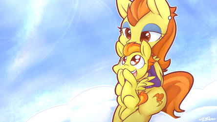[SpeedDraw] Filly Spitfire and Stormy Flare