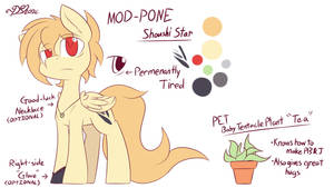 [Outdated] Mod Pon (Shoushi Star) Reference Sheet