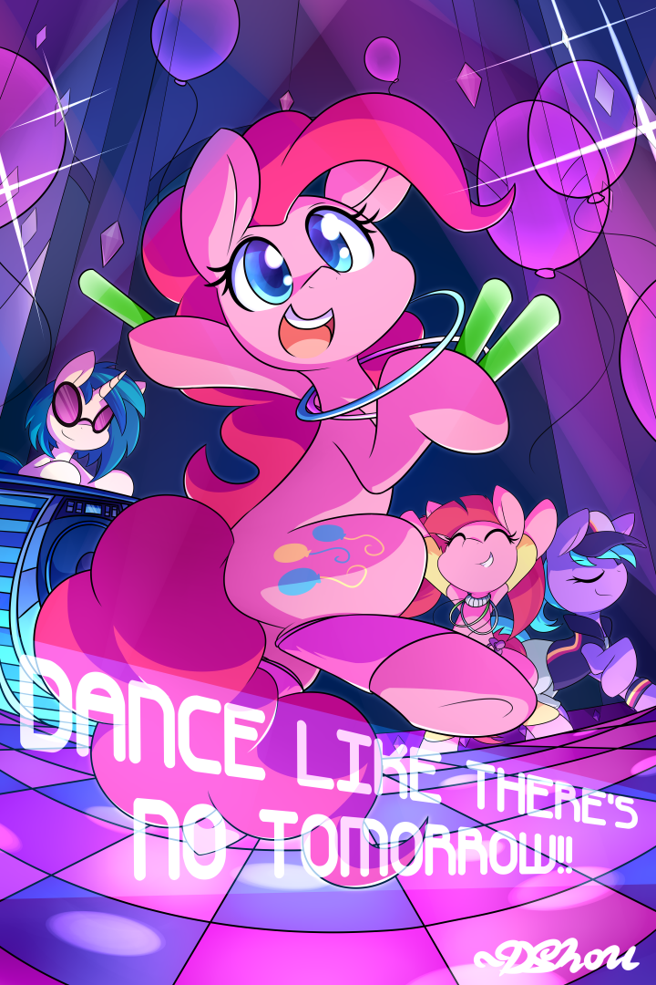 Dance like there's No Tomorrow! by DShou