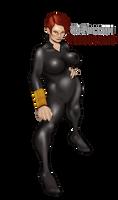 Grey Suit Black Widow by Selkirk _COLORS_ by carol-colors