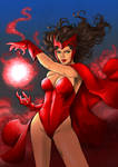 Scarlet Witch by Fredbenes (COLORS)