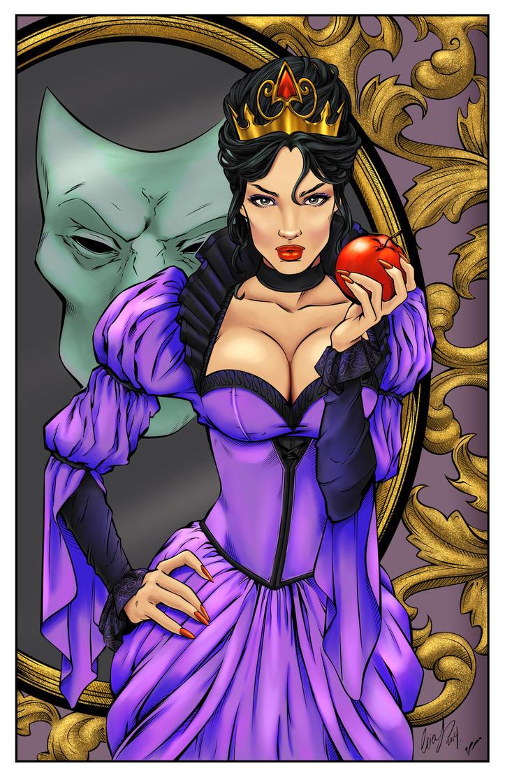 Free evil queen porn